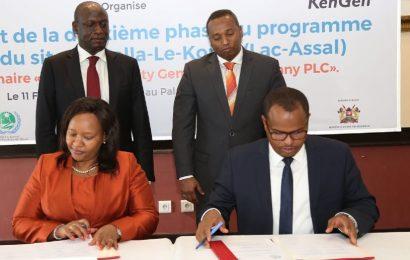 La société kényane KenGen remporte un contrat de forage de trois puits géothermiques à Djibouti