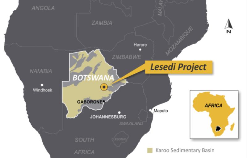 Botswana/Gaz de houille pour l'électricité: Tlou Energy recherche 10 millions de dollars pour la phase 1 du projet Lesedi