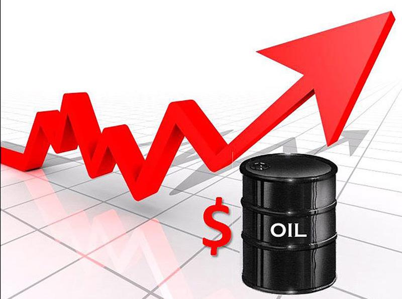Les cours du baril de pétrole brut au plus haut en près de eux ans le 05 mars