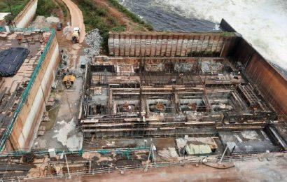 """Cameroun: le taux d'exécution de la centrale hydroélectrique de Lom Pangar toujours """"autour de 45%"""" à la mi-mars 2021"""