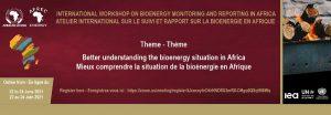 Atelier international sur le suivi de la bioénergie en Afrique @ Digital Event