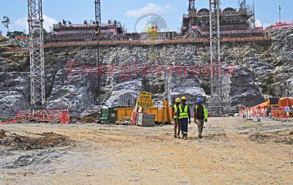 Cameroun: comment avancent les travaux sur le chantier du barrage de Nachtigal au mois de juin 2021
