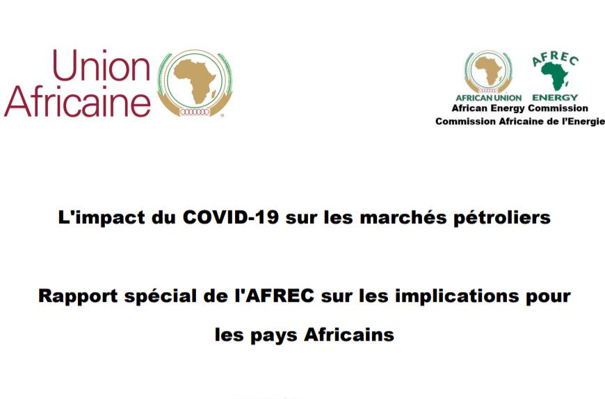Leçons du Covid-19 pour les pays africains producteurs de pétrole et importateurs de produits finis (Rapport)