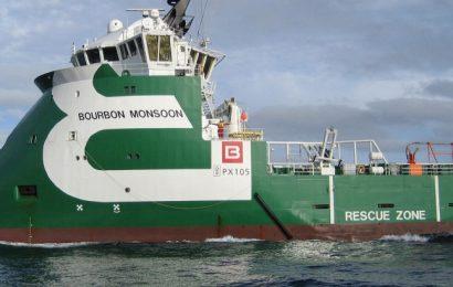 Contrat de logistique attribué au français Bourbon pour 2 campagnes d'exploration de Shell en Namibie et à Sao Tomé-et-Principe