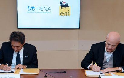 L'Irena et le géant pétrolier italien Eni scellent un partenariat pour promouvoir les biocarburants en Afrique